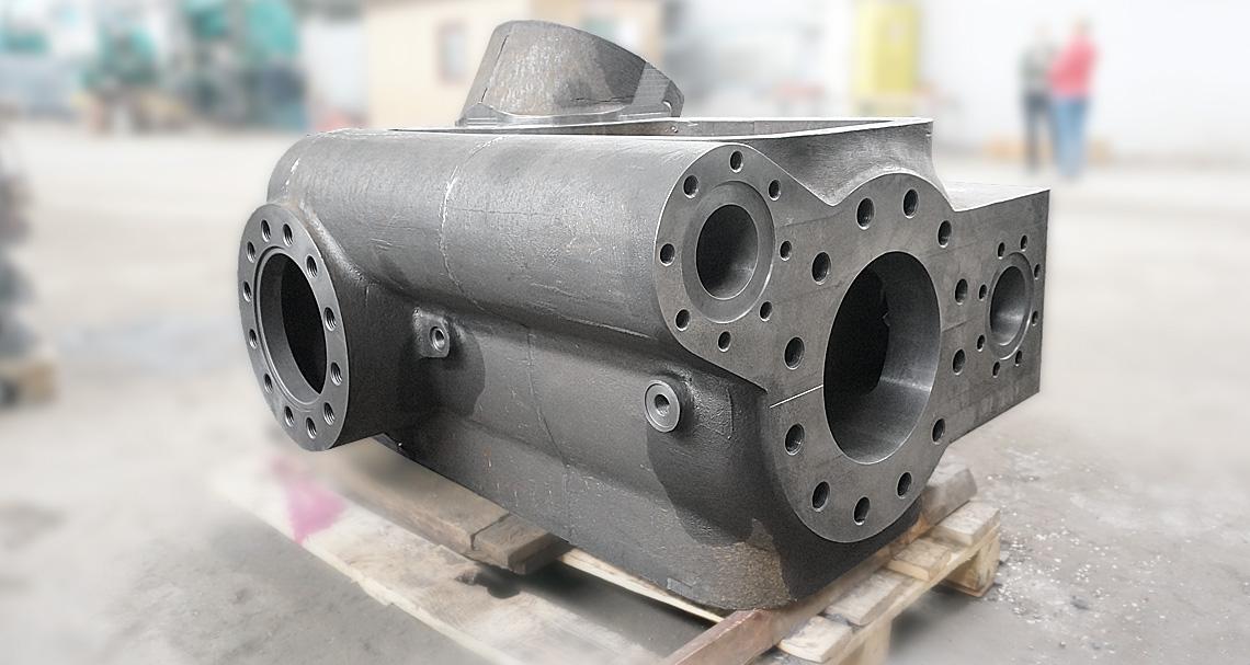 Отгружено заказчику цилиндр компрессора IV степени