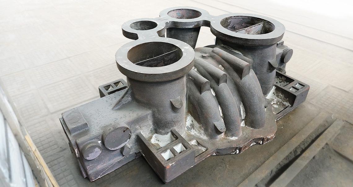 Корпус и крышка центробежного компрессора