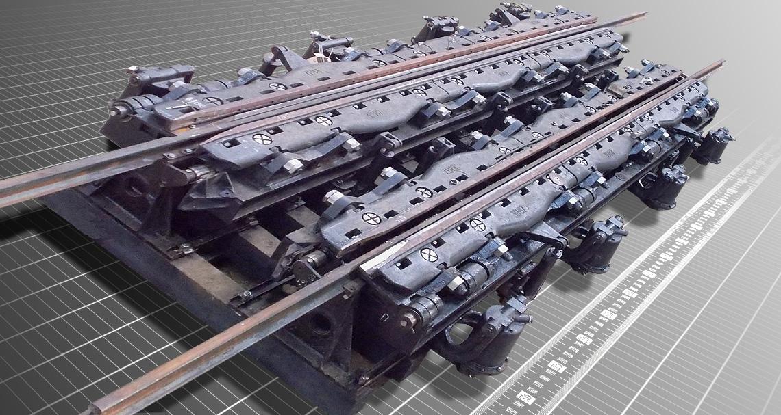 Замедлитель движения железнодорожных вагонов