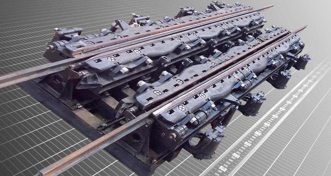 Сповільнювач руху залізничних вагонів